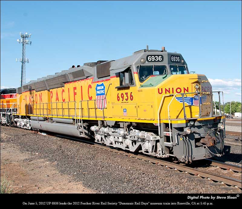 UP 6936 EMD DDA40X